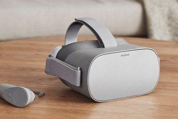 Casque de réalité virtuelle Oculus Go disponible début 2018