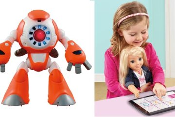 Robot connecté I-Que et poupée connectée 'My Friend Cayla' de Genesis Industries Limited