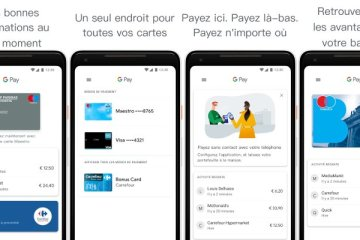 Application mobile Google Pay