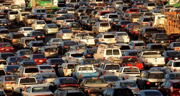 Embouteillages à San Francisco