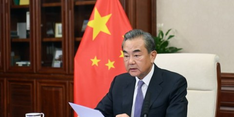 Wang Yi, ministre des Affaires Étrangères de la Chine