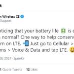 Quand Verizon demande à ses clients 5G d'utiliser le mode 4G…
