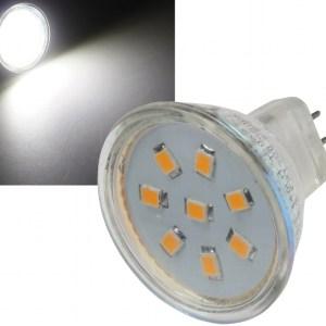 MR11 GU4 12V LED 2W = 160 Lumen