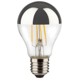 LED Birne Filament dimmbar verspiegelt E27 2700k