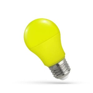 LED Leuchtmitte E27 5W gelb
