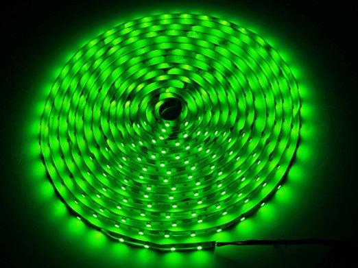 LED Stripe grün 5m kürzbar & dimmbar