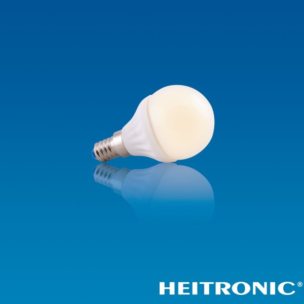 LED Kugelbirne mit E14 Schraubsockel