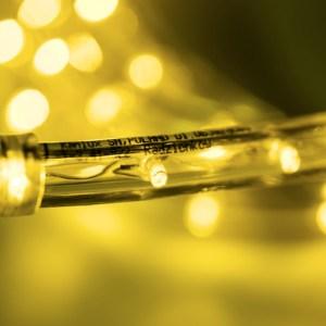 Lichtschlauch 50m gelb in Wunschlänge