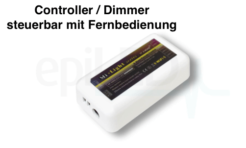 Funk Dimmer 12V - 24V programmierbarer LED Controller