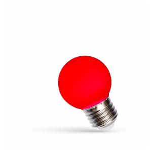 1W LED Birne E27 rot