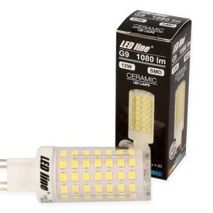 Unsere hellste G9 GU9 12 Watt LED 1080 Lumen tageslichtweiss
