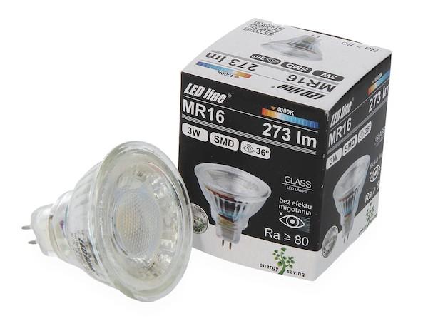 MR16 LED 12V (10V - 14V) 3W 4000K neutralweiss