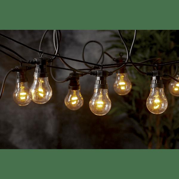 LED Lichterkette Innen & Aussen 10 Leuchtmittel