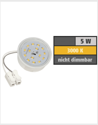 LED Modul GU10 / MR16 400 Lumen warmweiß