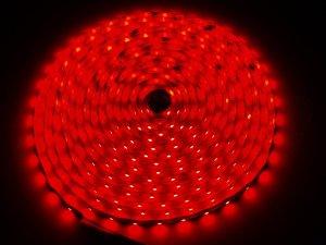 LED Stripe rot 5m kürzbar & dimmbar