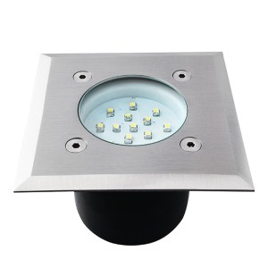 LED Bodeneinbaustrahler quadratisch