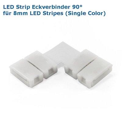 LED Stripe Eckverbinder 90° 8mm