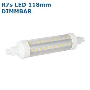 dimmbare R7s LED 118mm 360° rundum