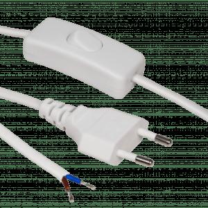 Netzkabel mit Schnurschalter 230V max. 100W