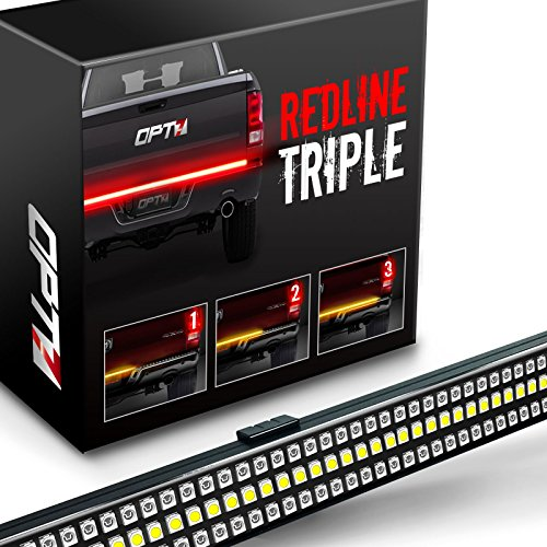 OPT7 Redline 60″ Triple S-Blade LED Tailgate w/ Sequential ... on