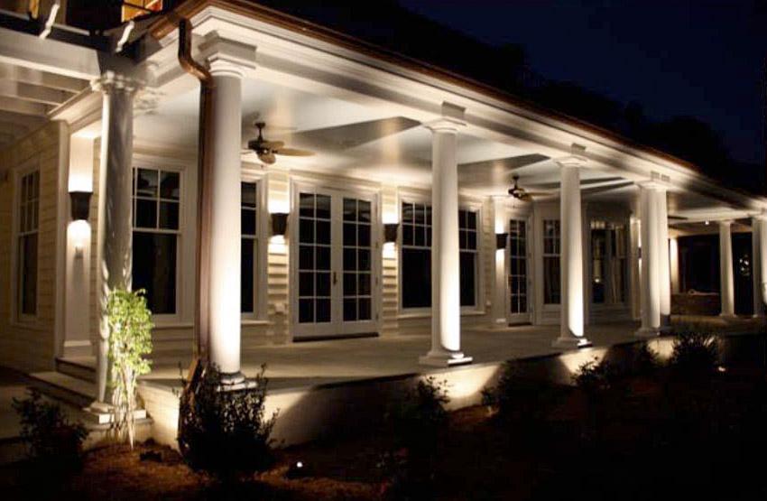landscape garden spike lighting led