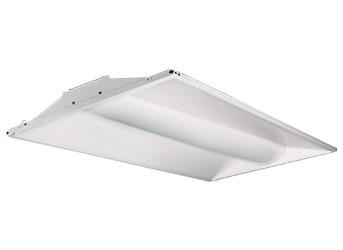 energetic led retrofit recessed troffer 2x4 foot 25 watt dimmable
