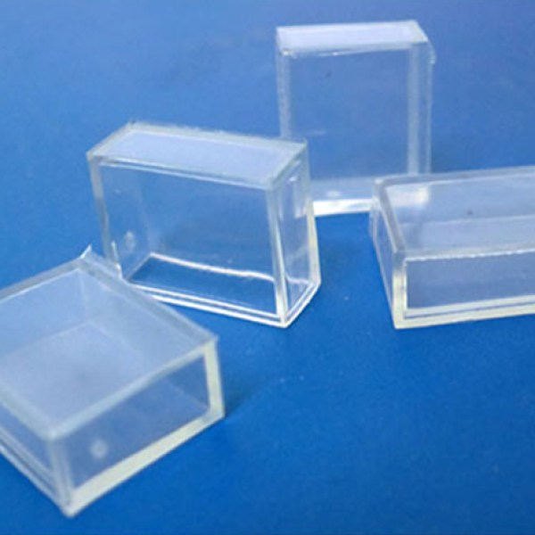 4 PZ Gommini Connettori PVC Per Chiusura Bobina Led Impermeabile Passo 12mm