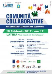 """Innovazione sociale e sostenibilità: alto convegno dell'Associazione """"Forum Latina"""" – Latina 10 febbraio – Aula """"De Pasquale"""" a Palazzo del Comune"""