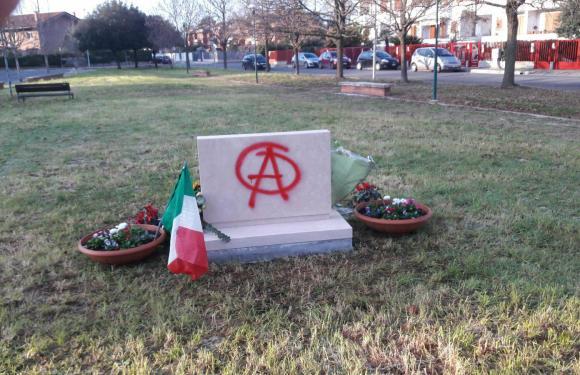 Vandalismo Foibe: vandali anche sul Ricordo