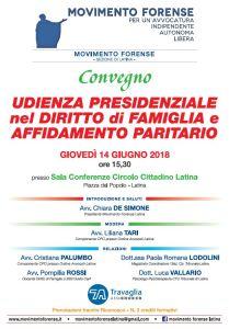 CONVEGNO da MF Latina - La nuova udienza presidenziale in separazione e divorzio 3
