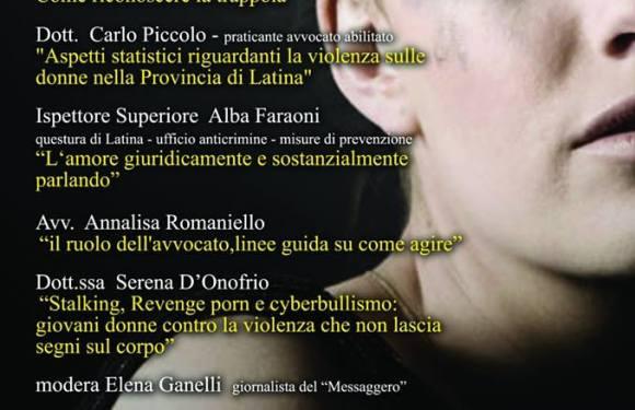 E' ora di agire! Convegno a Latina (LT) per lottare contro la violenza di genere.