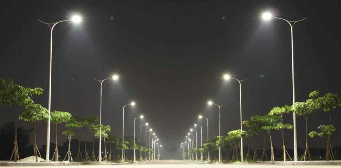 Aplicação Luminária Pública
