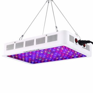 Growstar LED Review - 600W Optical Lens (Full Spectrum) - Grow Light Review