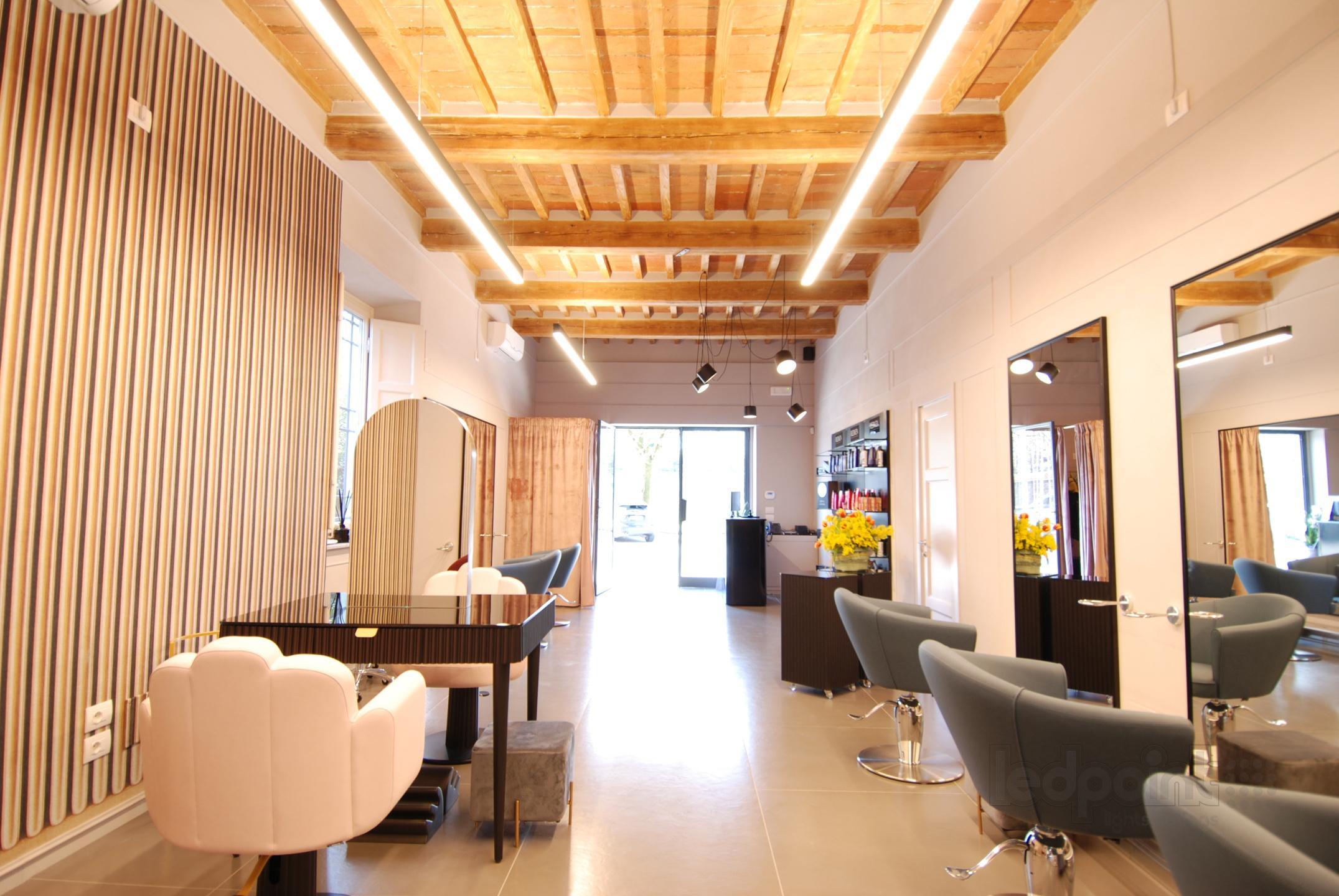 hair salon lighting ledpoint s r l
