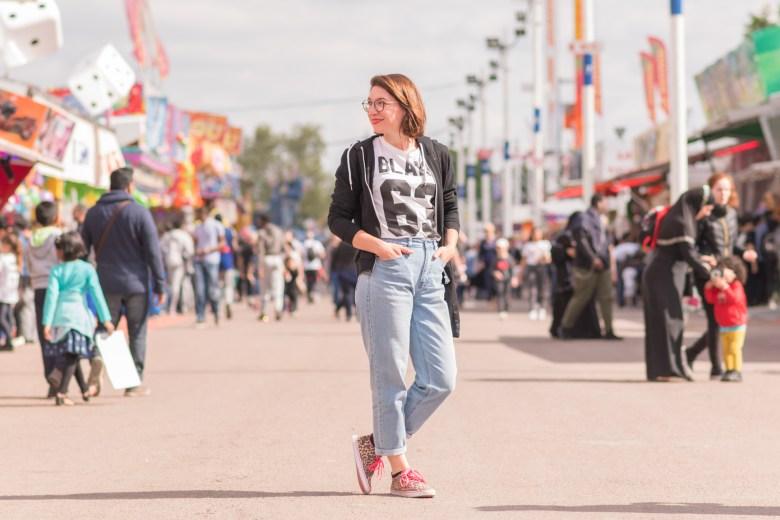 foire du trône mode blog blogueuse fashion léopard paris