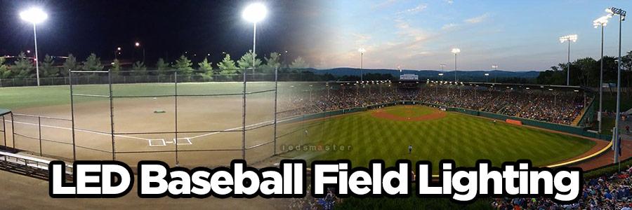 baseball field lighting cost lamp