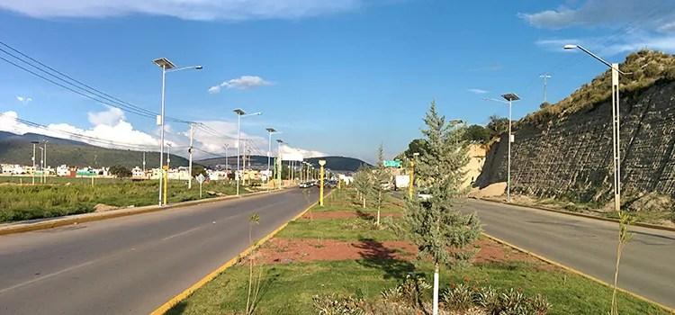 Proyectos de alumbrado en Pachuca, Hgo
