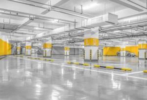 Lámpara LED para nave industrial - estacionamiento