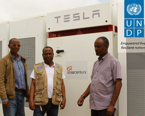Solarcentury brings Tesla Batteries in Eritrea