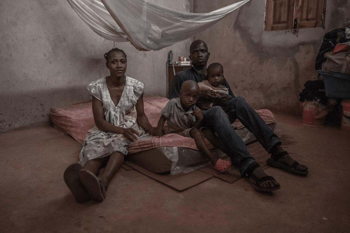 Paolo con la moglie Artemisia ed i loro figli - Giovanni Piccolo (2019)