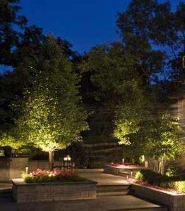 landscape outdoor lighting kits