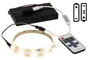 battery powered led strip light