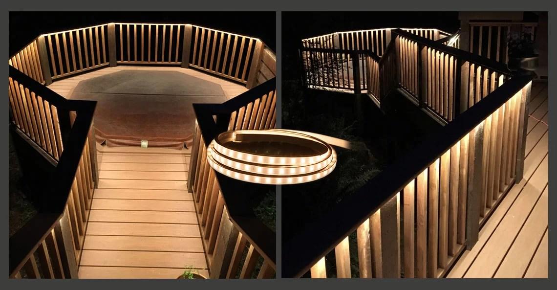 120v led light strips long run strips