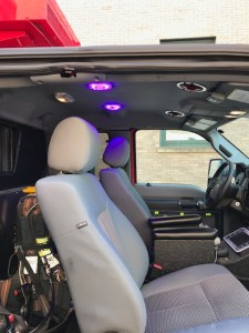 Ambulance Cab Disinfection