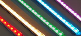 Colour Changing LED Light Bars