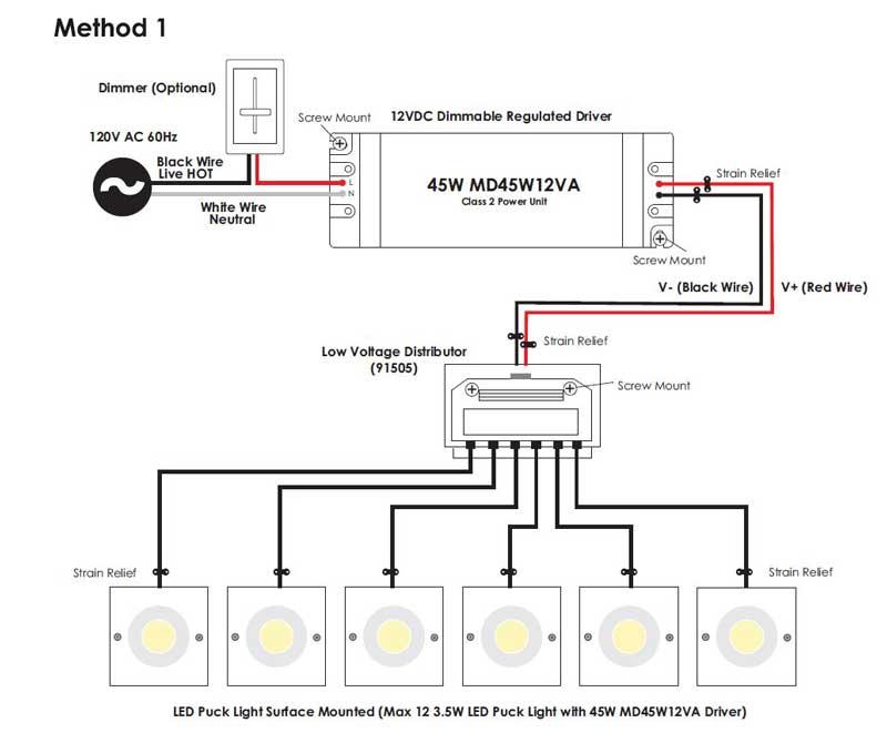 Wiring Low Voltage Led Lights