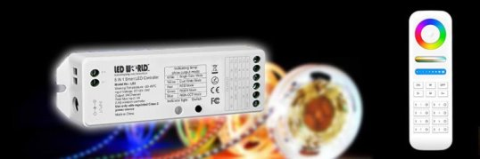 Value line series RGB color controllers