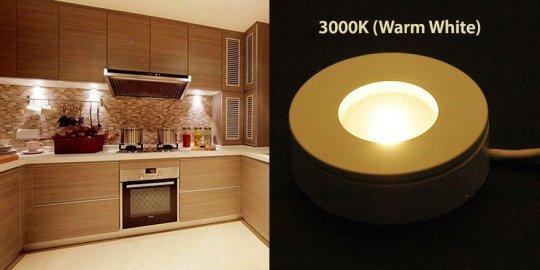 3000K LED Puck light