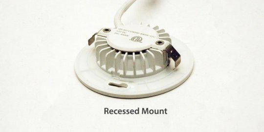 Recessed Mount option