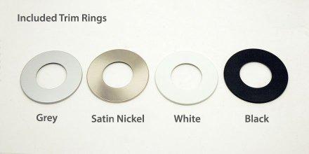 Trim ring color options